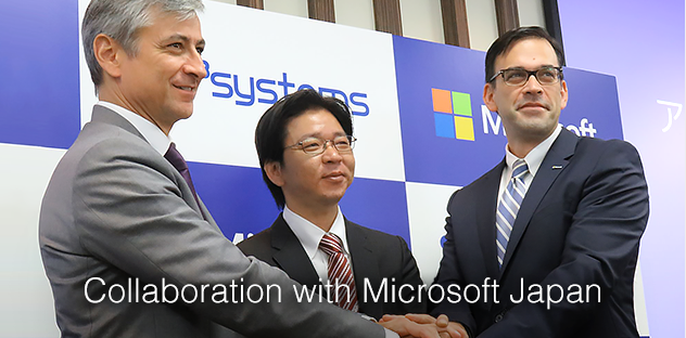 Collaboration with Microsoft Japan
